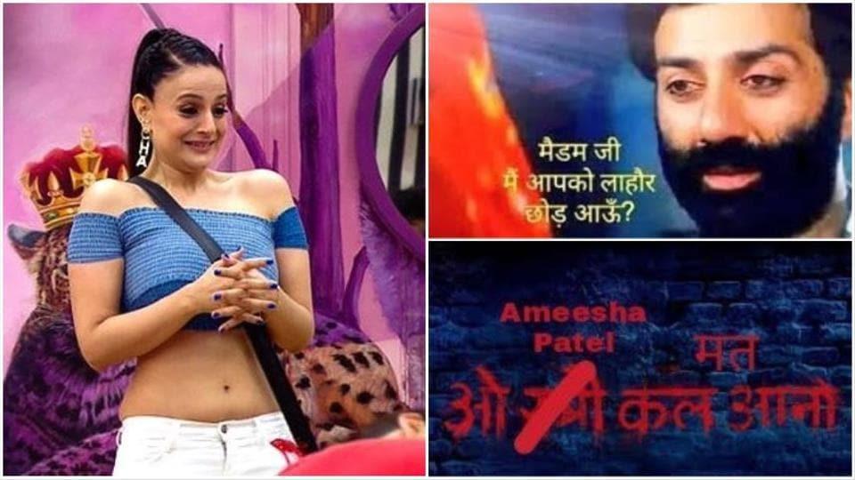 Bigg Boss 13 Irritated By Ameesha Patel S Overacting