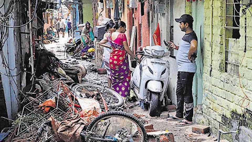 Residents of the Tangewala colony in Sahakarnagar, who were affected by the flash floods allege that they are not getting necessary help from the Pune Municipal Corporation.
