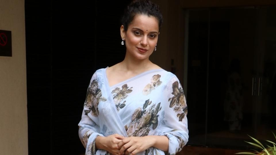 Kangana Ranaut at Cauvery Calling campaign in Mumbai.