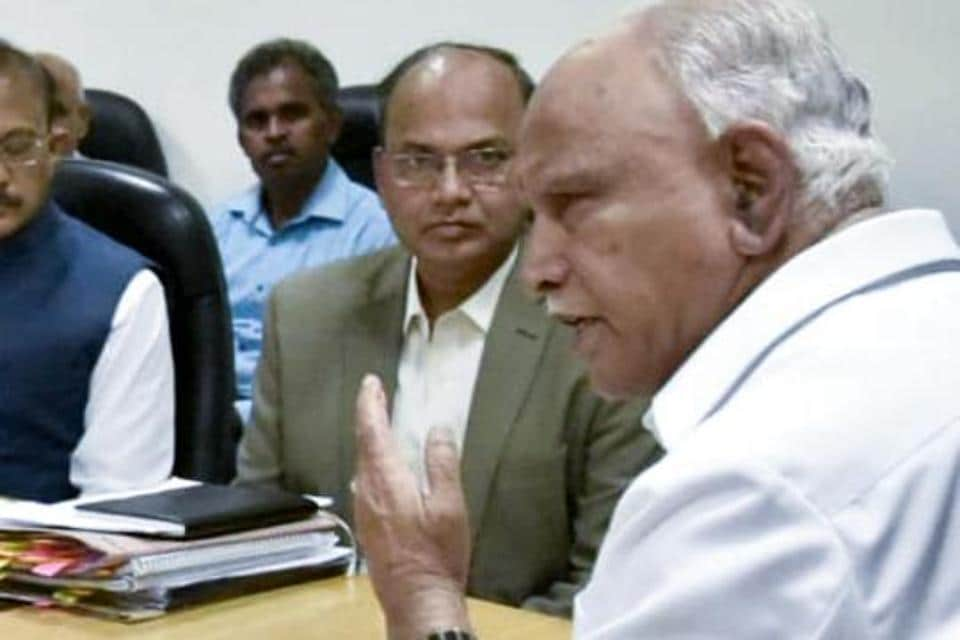Yediyurappa faced opposition from the youngest Ballari brother Somashekhar Reddy on the plea to bifurcate Ballary into two districts