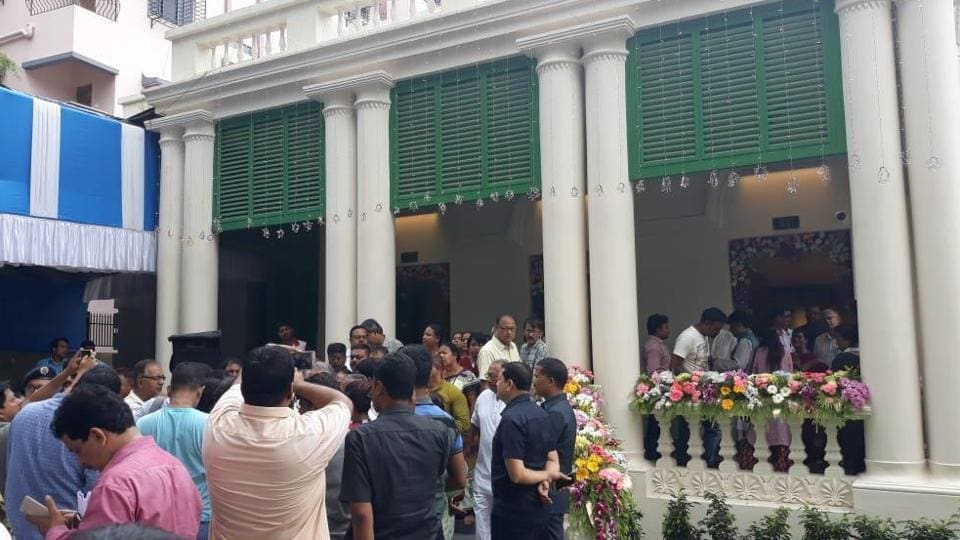 A renovated Gandhi Bhawan was inaugurated by a Bengal minister and several followers of Gandhi on Wednesday.