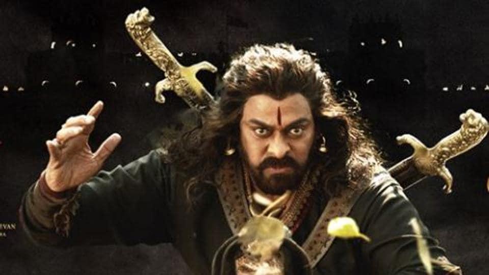 Sye Raa Narasimha Reddy movie review: Chiranjeevi as freedom fighter Narasimha Reddy.