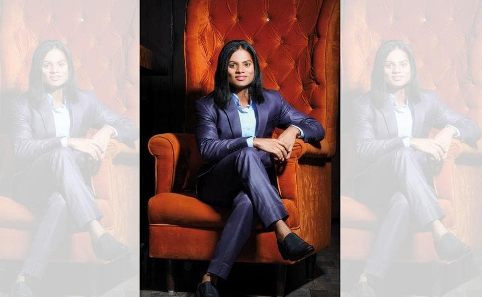 Dutee Chand advises young girls to dream big and to strive to fulfil their dreams (Location courtesy: Hilton Garden Inn, Saket/New Delhi )
