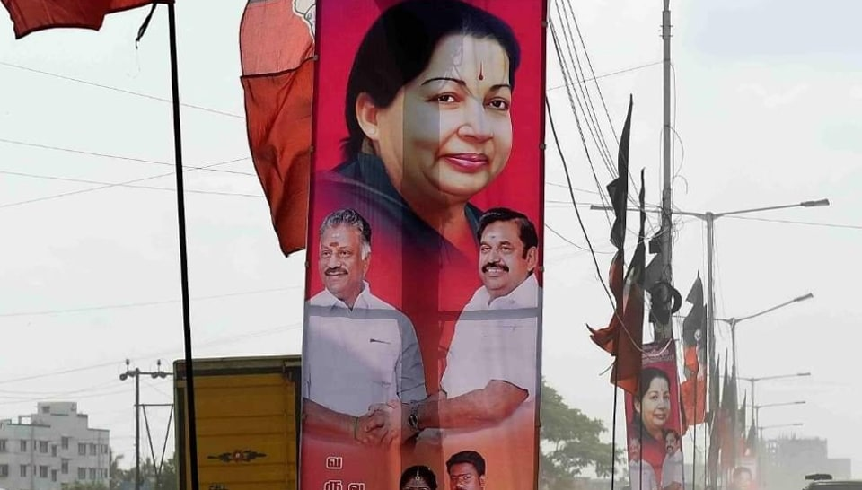 Banners and hoardings have become  ubiquitous in Tamil Nadu.