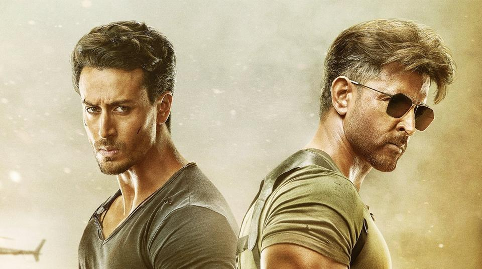 War movie review: Tiger Shroff and Hrithik Roshan are pitted against each other.
