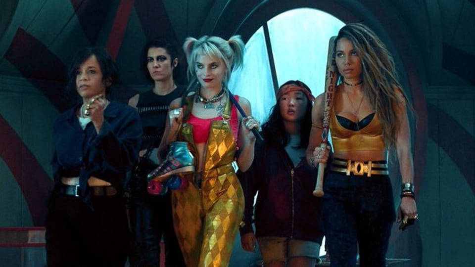 Birds of Prey features Harley Quinn (Margot Robbie), Black Canary (Jurnee Smollett-Bell), Huntress (Mary Elizabeth Winstead), detective Renee Montoya (Rosie Perez) and Cassandra Cain (Ella Jay Basco).