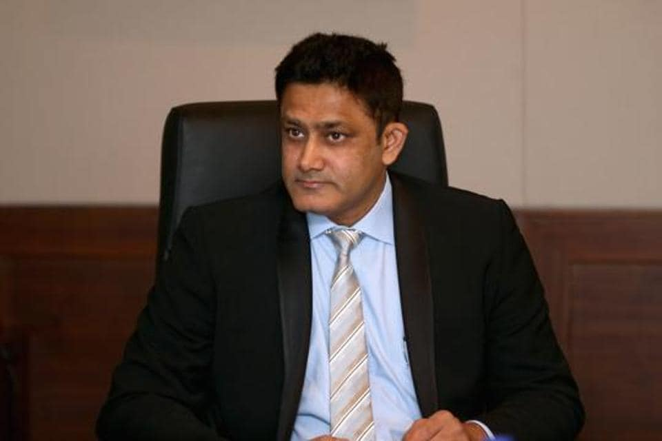 Former India coach and captain Anil Kumble