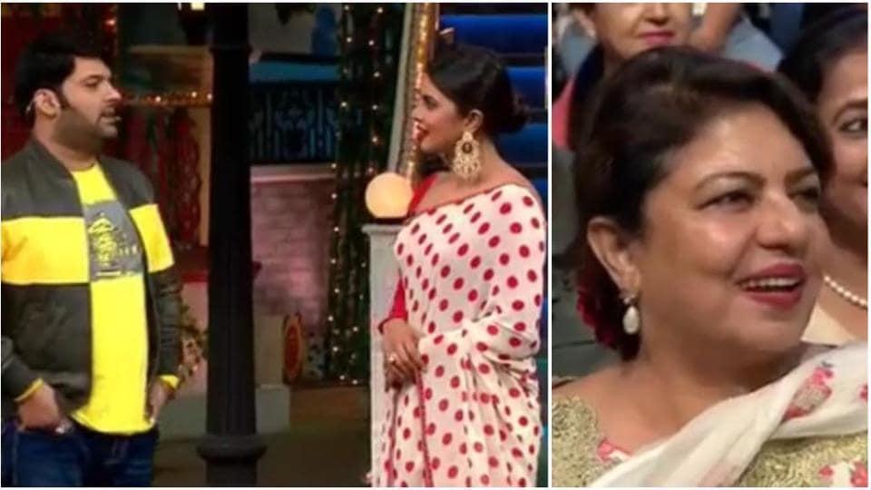 Priyanka Chopra brought her mother along to The Kapil Sharma Show.