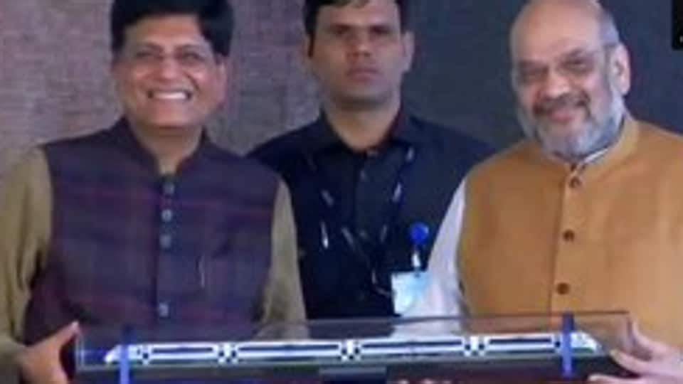 Amit Shah said Vande Bharat Express, the fastest train yet to Jammu that will reduce the travel time between Delhi and Katra from 12 hours to 8, is a gift for J&K's development and would enhance religious tourism.