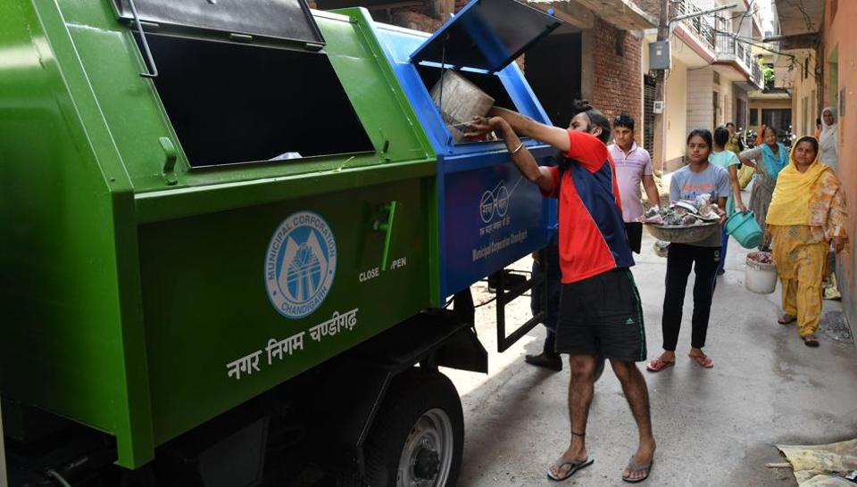 Residents will face a fine of ₹200, while the penalty is ₹500 for businesses for not separating dry and wet waste.
