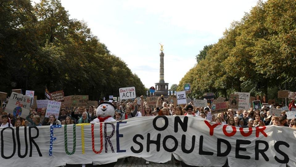 Berlin Climate Strike