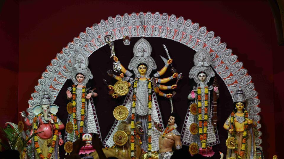 Economic slowdown has cast its shadow on Durga Puja festival in West Bengal.