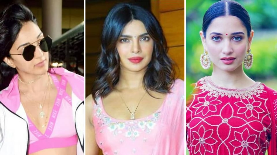 From athleisure, formals, co-ords, well-tailored dresses, the leggy lasses of Bollywood flaunted their love for pink in all shapes and forms, which begs the question: Is the rosy hue back in style?