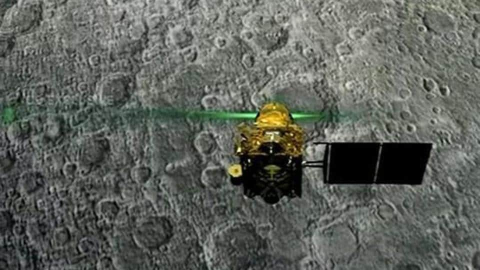 Chandrayaan-2 orbiter sends high resolution images of moon