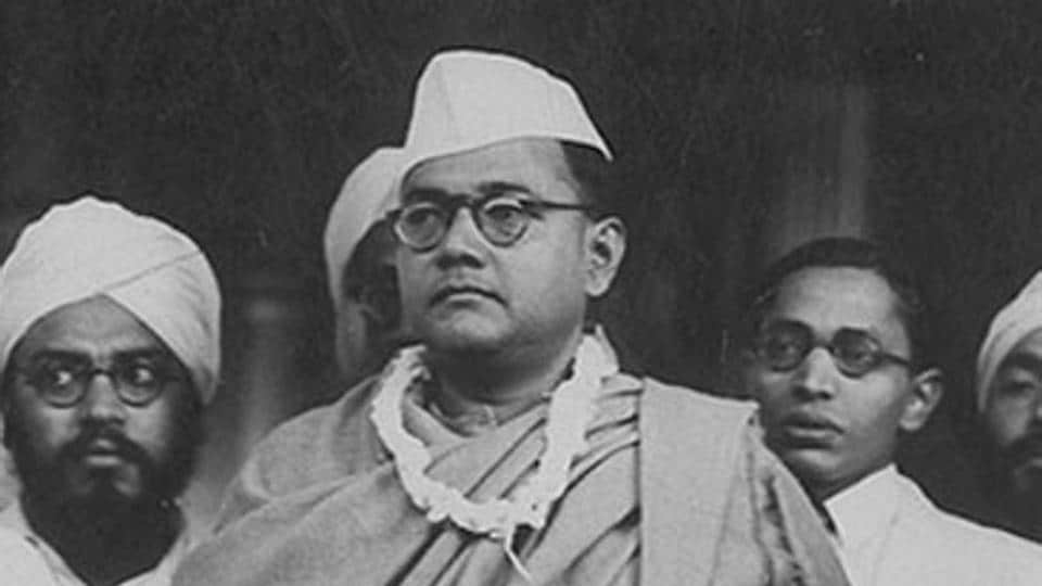 An archival image of Netaji Subhas Chandra Bose. Film exploring his last days is being opposed by the party he formed.