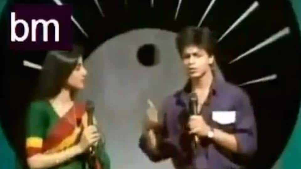 SRK's thowback video reveals he anchored Doordarshan shows
