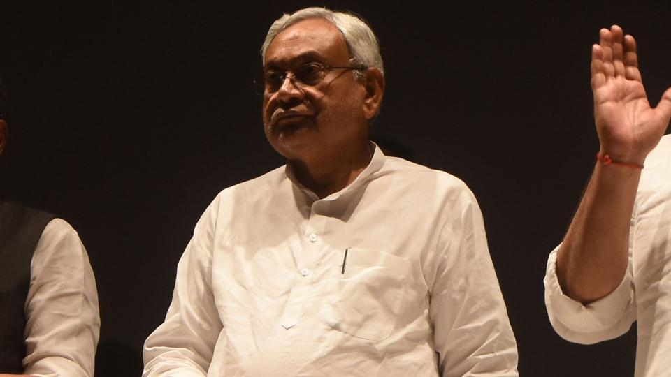 Bihar Chief Minister Nitish Kumar has filed his nomination for the post of national president of JD(U) for a second term.
