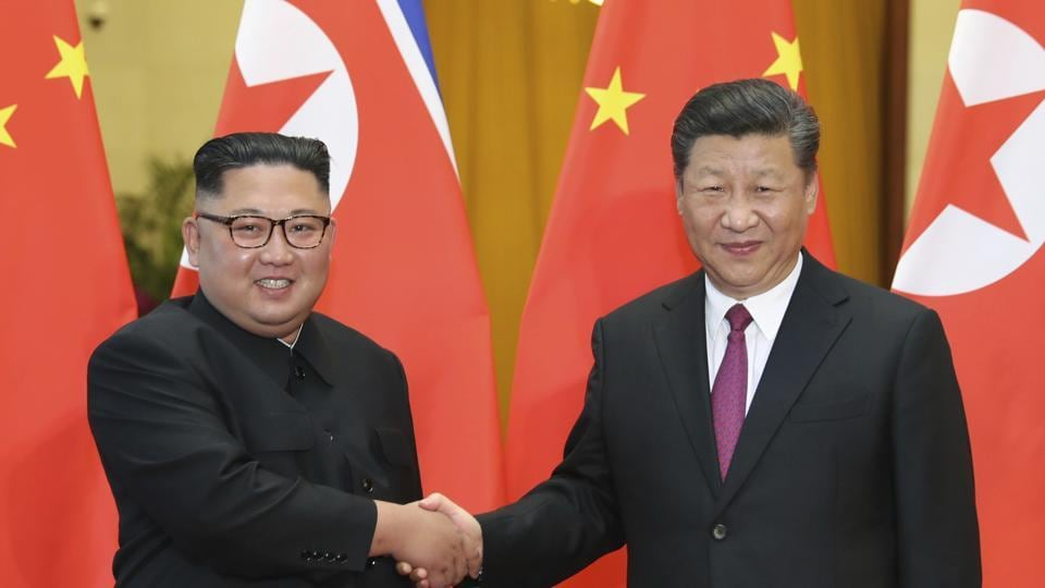 """In his message to Xi, Kim was quoted to have said that their countries' """"invincible friendship will be immortal on the road of accomplishing the cause of socialism""""."""