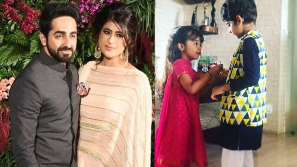 Ayushmann Khurrana has two kids: Virajveer and Varushka.