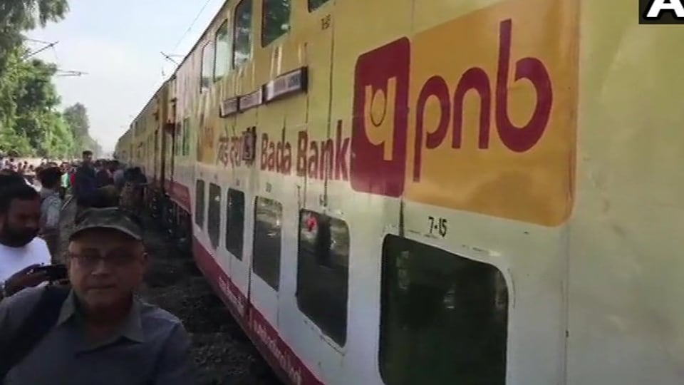 According to officials, the fifth and the eighth coaches of the Lucknow -AnandVihar Double Decker ACExpress derailed at the level crossing gate number 415 at around 10:15am on October 6, 2019.