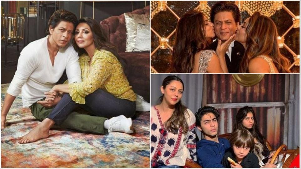 Happy birthday Gauri Khan: Check out her 10 best pics with Shah Rukh Khan, Aryan, Suhana and AbRam.