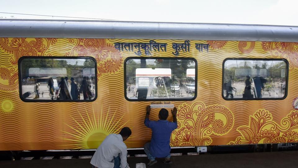 Madhya Pradesh school designed as train to attract children. (Representational image)