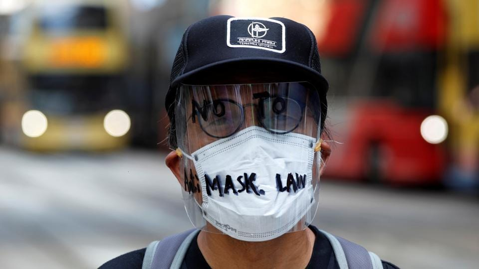 "What started as opposition to a now-withdrawn extradition bill has swelled into a pro-democracy movement against what is seen as Beijing's increasing grip on the city, undermining its ""one country, two systems"" status promised when Britain handed Hong Kong back to China in 1997. (Tyrone Siu / REUTERS)"