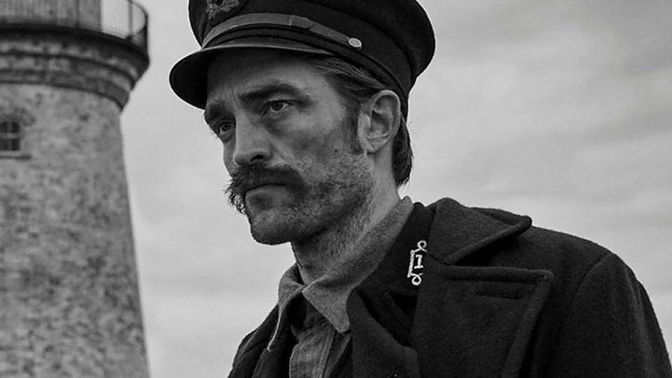 Robert Pattinson in The Lighthouse.