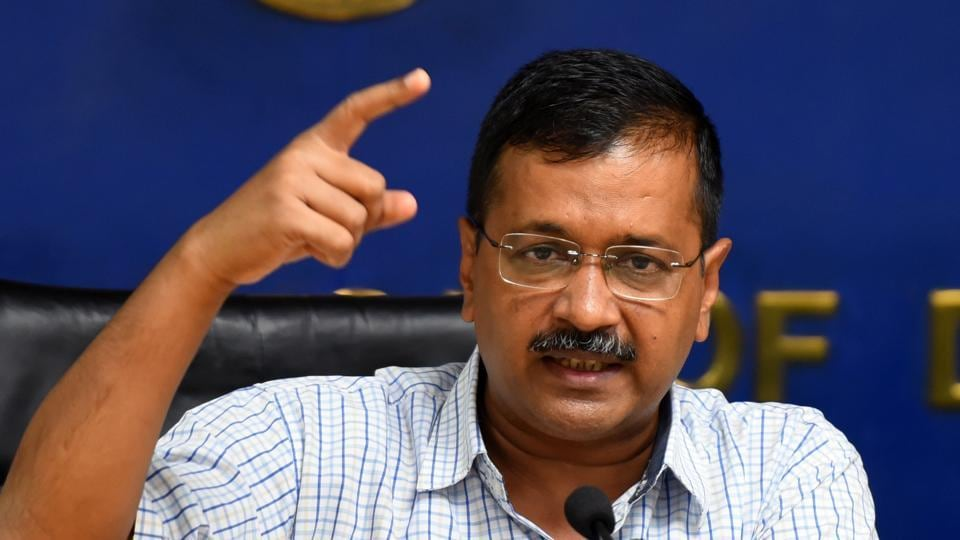 Officials in the chief minister's office said  Kejriwal was scheduled to leave for Copenhagen at 2pm on Tuesday, but cancelled the trip.