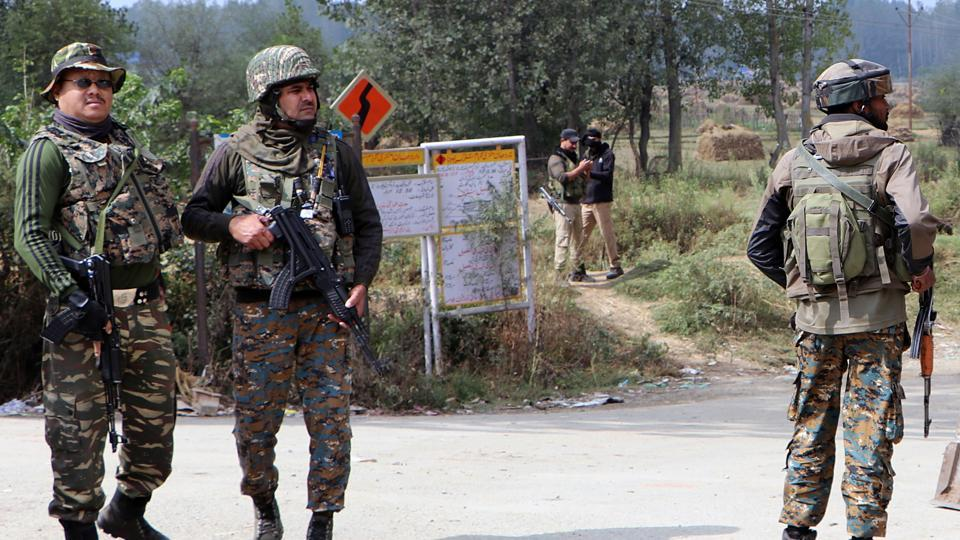 """The army chief apprised the Chinese military leadership """"about the consequences of the ongoing situation"""" in Kashmir if it's not amicably resolved. (ANI PHOTO)"""