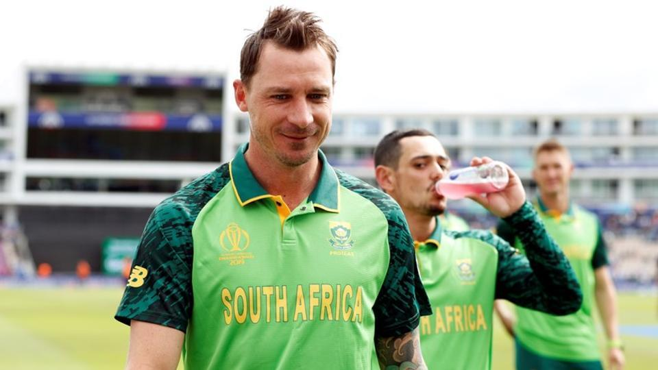 South Africa's Dale Steyn during the ICC Cricket World Cup.