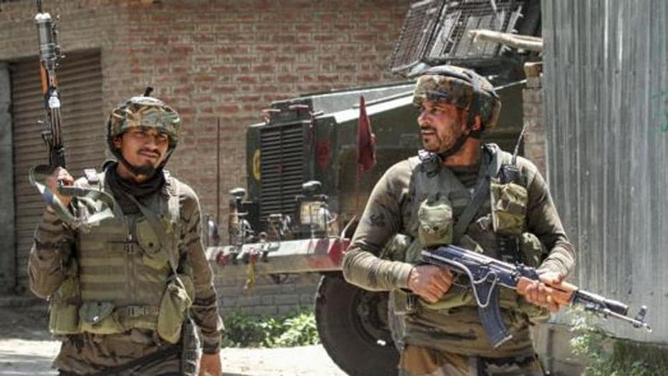 Security forces killed the two militants in a gunfight n Awantipora area of Pulwama.