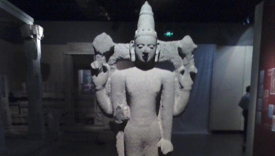 Hundreds of sculptures and carvings were excavated in the city and surrounding areas in the middle of the last century.