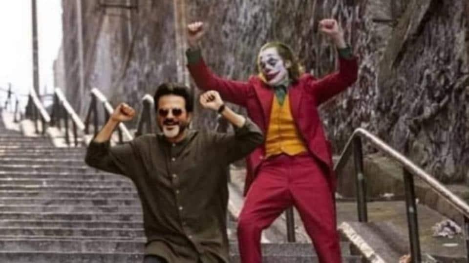 Joaquin Phoenix's Joker does the Ram Lakhan dance.