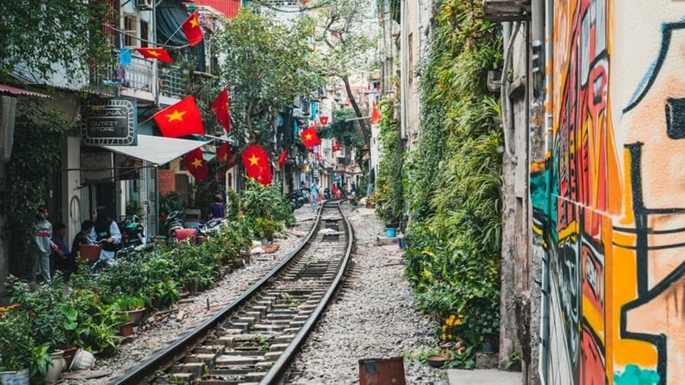 Built in 1902 under French colonial rulers, the railway to Vietnam's northern provinces carries passengers and cargo mostly between Hanoi and the eastern city of Haiphong.