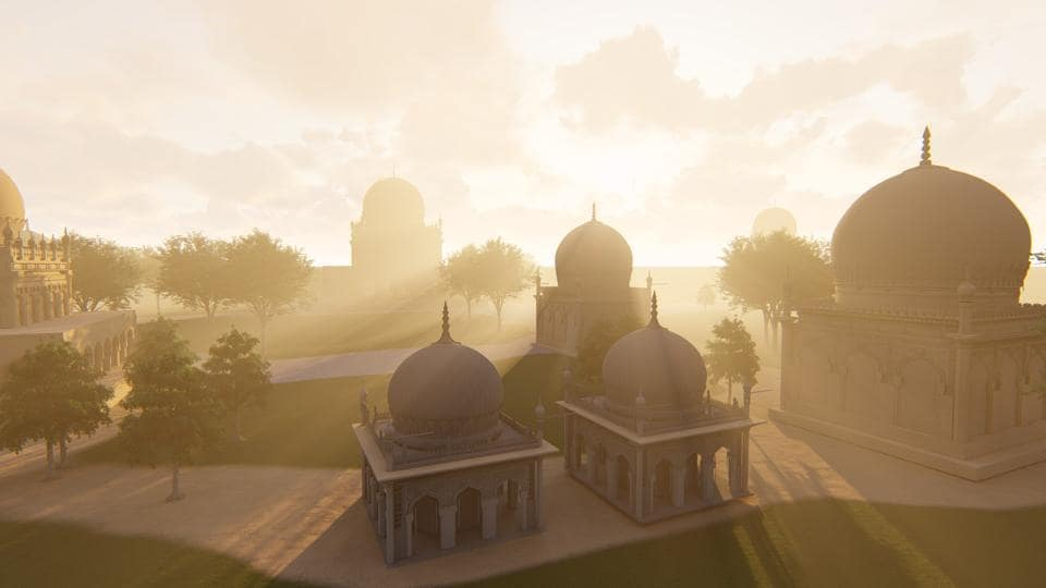 Virtual Reality (VR) is one of the latest technologies in filmmaking.  An advantage of VR is its 360-degree immersive experience. Using the premier technology in immersion, IIT Hyderabad has developed a virtual exploratory landscape which lets the user experience the historical monuments of Qutb Shahi like never before.