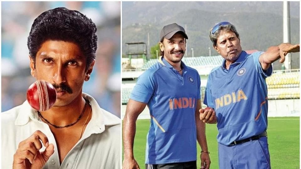 Ranveer Singh had to work hard to get Kapil Dev's bowling technique right.