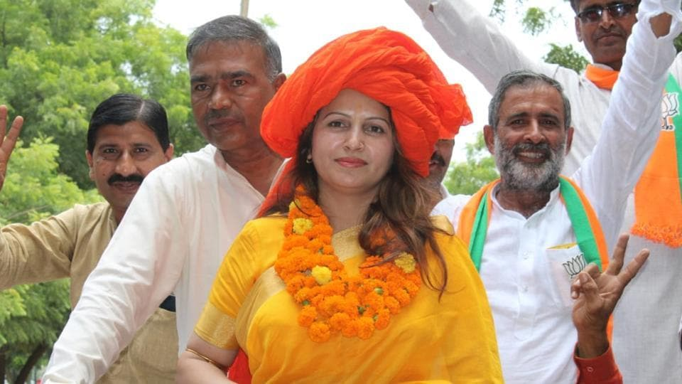 Sonali Phogat, a TikTok celebrity, is the BJPcandidate against sitting Congress MLA Kuldeep Bishnoi in Adampur constituency in the Haryana assembly election.