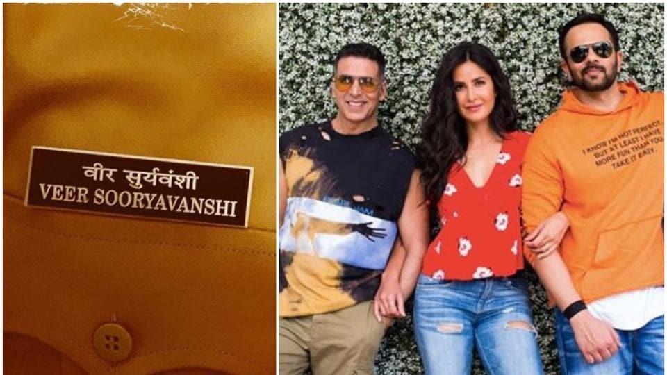 Katrina Kaif shared the name badge of Akshay Kumar's character inSooryavanshi.