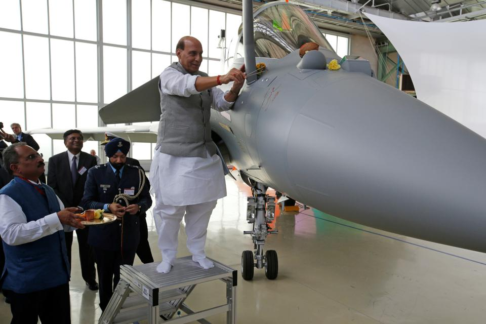 The first Rafale fighters, four out of 36 ordered, will not actually land in India until March next year. But the present ceremony will at least mark an end to India's pursuit of a 21st century fighter