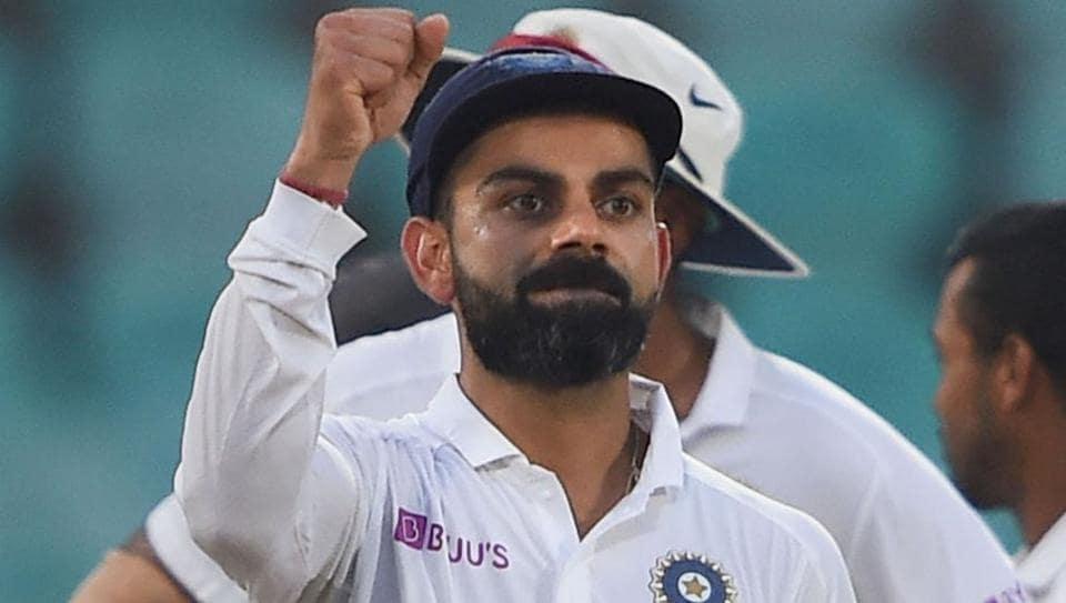 India's skipper Virat Kohli