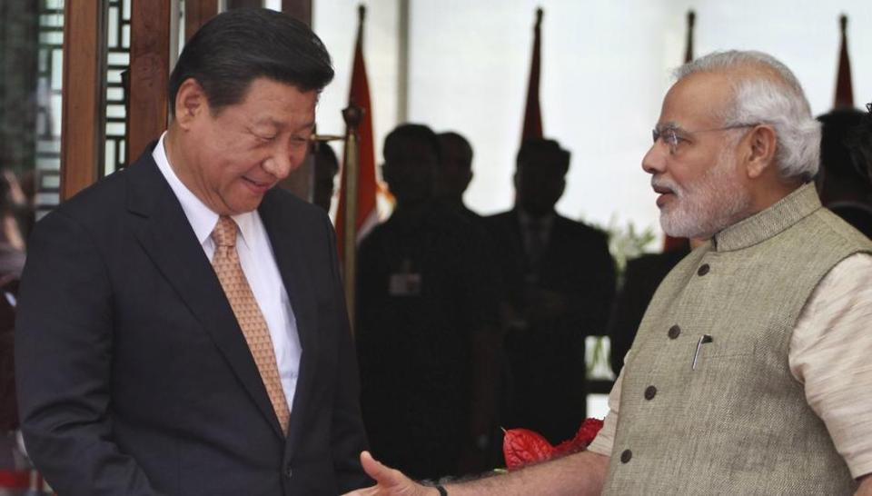 File photo of  Indian Prime Minister Narendra Modi with Chinese President Xi Jinping