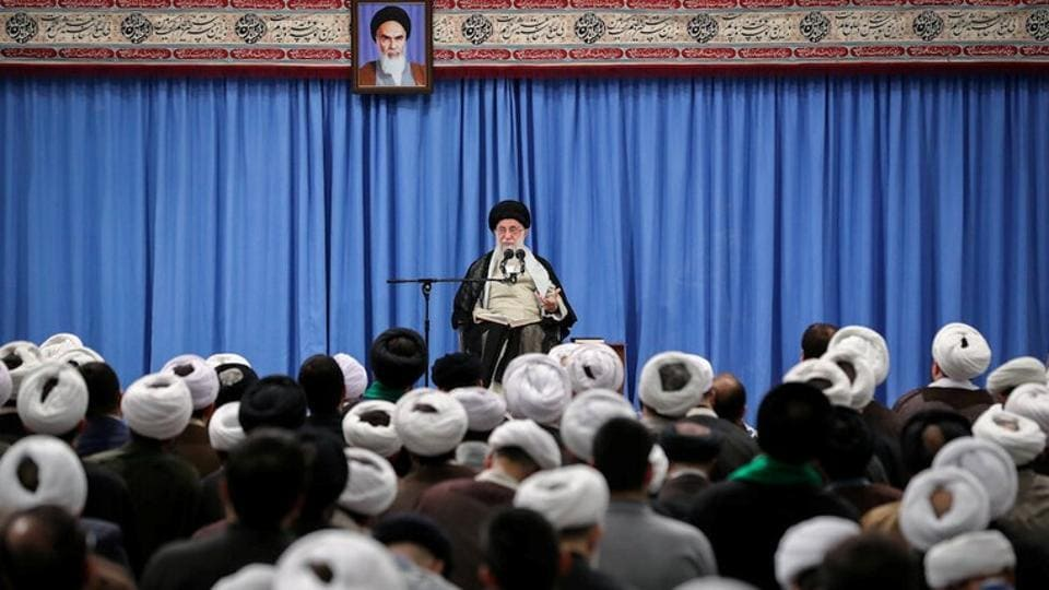 Iran's supreme leader Ayatollah Ali Khamenei is highest cleric in Shi'ite Islam. He is also a prominent figure in Gulf region.