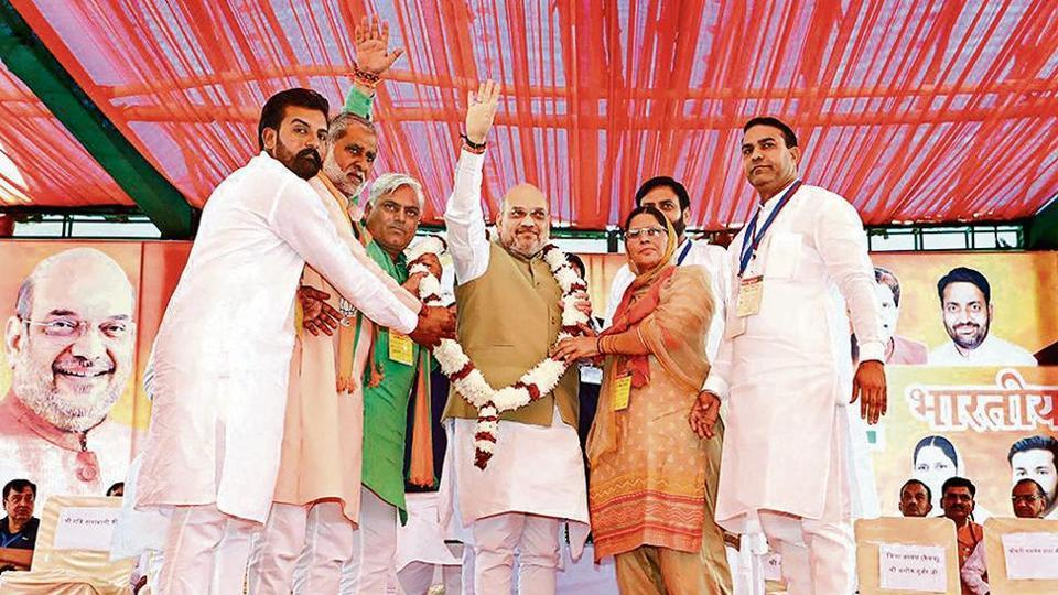 Contrasting the Bharatiya Janata Party's stand with that of the Congress, Shah said former prime minister Atal Bihari Vajpayee had praised then PM Indira Gandhi after India won the 1971 war against Pakistan.