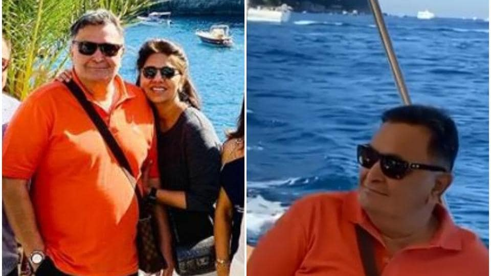 Rishi Kapoor and Neetu Kapoor recently returned from the US.