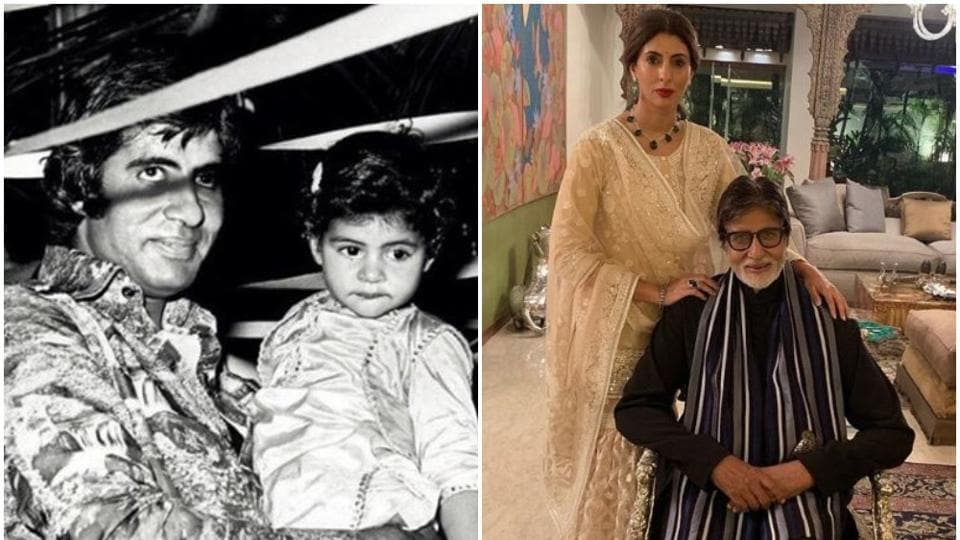 Amitabh Bachchan and his daughter Shweta Bachchan Nanda are pretty active on Instagram
