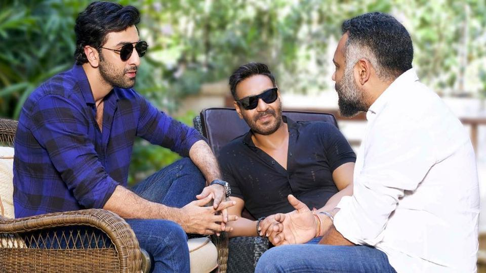 Ranbir Kapoor and Ajay Devgn in conversation with Luv Ranjan.
