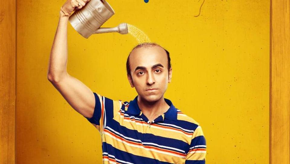 Ayushmann Khurrana plays a man suffering from premature balding in Bala.