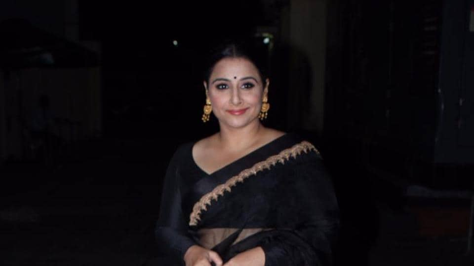 Vidya Balan at the screening of The Sky Is Pink on Wednesday.