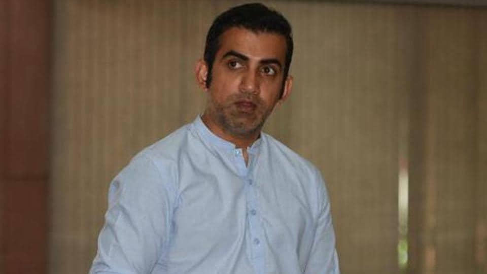 File photo of Gautam Gambhir.